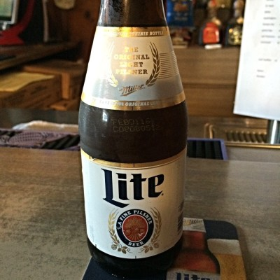 $3 Miller Lites in the Steinie bottle...you can't go wrong!