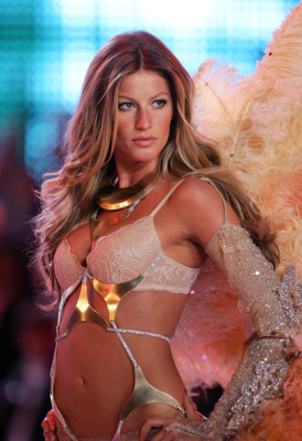 Gisele Bunchen...otherwise known as Mrs. Brady.