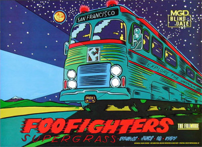 The Foo Fighters!