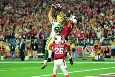 Another Hail Mary...and this time, to Jeff Janis (the People's Champion). It felt like destiny was on our side...until just moments later.