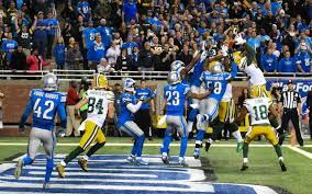 The Packers were a complete dumpster fire in the early part of this game, but this Hail Mary had us forget all about it...and made us believe once again. This play is the definition of sports fandom.