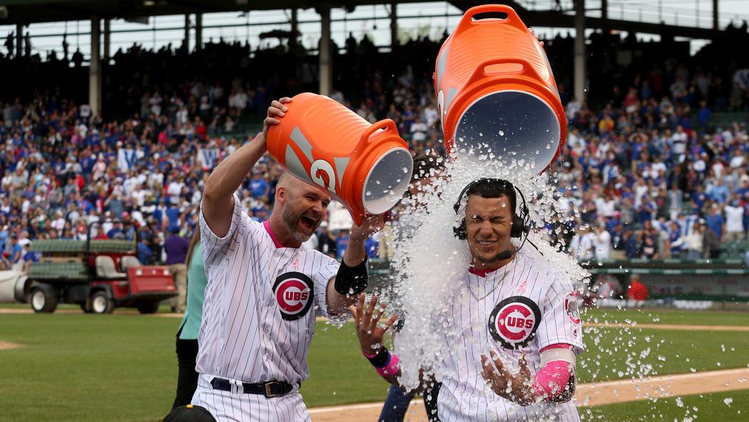 Cubs win…
